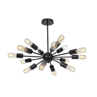 Access Lighting Flux 16 Light Pendant in Bronze 55543-BRZ