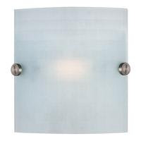 Access 62054-BS/CKF Radon 1 Light 8 inch Brushed Steel ADA Sconce Wall Light