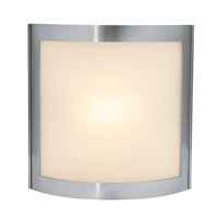Sentinel 1 Light 8 inch Satin Vanity Wall Light