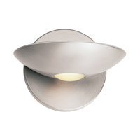 Access Lighting Helius 1 Light Sconce in Brushed Steel 62084-BS/FST