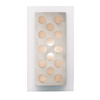 Access Lighting Aquarius 1 Light Sconce in Brushed Steel 62094-BS/FST photo thumbnail