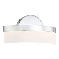 Access 62246LEDD-CH/ACR Bow LED 8 inch Chrome ADA Wall Sconce Wall Light