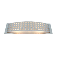 Access Lighting Aura 2 Light Crystal and Chrome Wall/Vanity in Chrome with Crystal Accents Glass 62272-CH/CRY alternative photo thumbnail