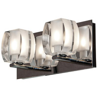 Evia LED 11 inch Chrome Vanity Light Wall Light