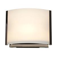 Access 62291-BS/OPL Nitro 2 1 Light 7 inch Brushed Steel Vanity Light Wall Light in  6.9 inch