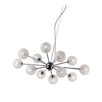 Opulence LED 31 inch Chrome Chandelier Ceiling Light