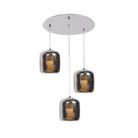 Access 62341LEDDLP-MSS/SMAMB Dor LED 14 inch Mirrored Stainless Steel Pendant Ceiling Light