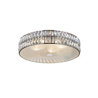 Access 62356LEDD-MSS/CRY Magari LED 18 inch Mirrored Stainless Steel Flush Mount Ceiling Light