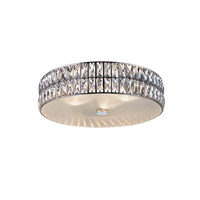 Access 62357LEDD-MSS/CRY Magari LED 21 inch Mirrored Stainless Steel Flush Mount Ceiling Light