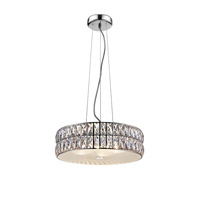 Access 62358LEDD-MSS/CRY Magari LED 15 inch Mirrored Stainless Steel Pendant Ceiling Light