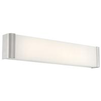 Access 62506LEDD-BS/FST Origin LED 25 inch Brushed Steel Vanity Light Wall Light