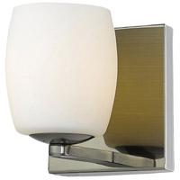 Access 62561-AB/OPL Serenity 1 Light 5 inch Antique Brass Vanity Light Wall Light
