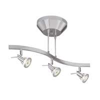 Access Lighting Versahl 3 Light Spotlight Semi-Flushwith LED Lamps in Matte Chrome 63013LED-MC