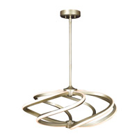 Access 63111LEDD-IGLD Vortex LED 27 inch Inspired Gold Pendant Ceiling Light