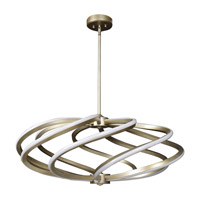 Vortex LED 33 inch Inspired Gold Pendant Ceiling Light