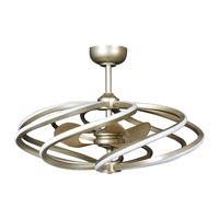 Vortex LED 33 inch Brushed Steel Pendant Ceiling Light