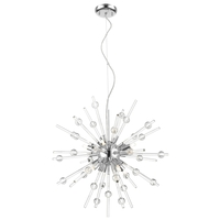 Access 63121LEDDLP-CH/CLR Burst LED 21 inch Chrome Pendant Ceiling Light