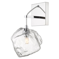 Access 63129LEDDLP-MSS/CLR Boulder LED 6 inch Mirrored Stainless Steel Wall Sconce Wall Light