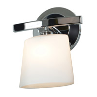 Access 63811-20-CH/OPL Sydney 1 Light 8 inch Chrome Vanity Wall Light in 7.5 inch
