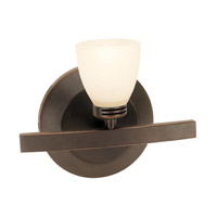 Access Lighting Sydney 1 Light Vanity in Oil Rubbed Bronze 63811-ORB/OPL photo thumbnail