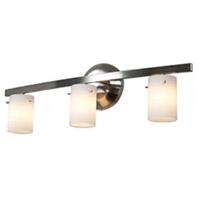 Access 63813-47-MC/OPL Classical 3 Light 22 inch Matte Chrome Vanity Wall Light in Opal