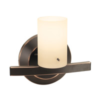 Access Lighting Classical 1 Light Vanity in Oil Rubbed Bronze 63911-ORB/OPL