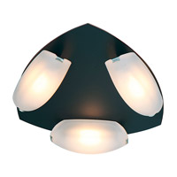 Access Lighting Nido 3 Light Flush Mount in Oil Rubbed Bronze 63953LED-ORB/FST