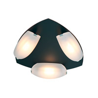 Nido LED 6 inch Oil Rubbed Bronze Flush Mount Ceiling Light