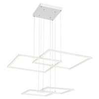 Access 63968LEDD-WH/ACR Squared LED 31 inch White Pendant Ceiling Light