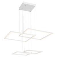 Access 63968LEDD-WH/ACR Squared LED 31 inch White Pendant Ceiling Light