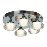 Access 63979LED-CH/ACR Optix LED 16 inch Chrome Flush Mount Ceiling Light