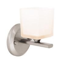 Access Lighting Hermes 1 Light Vanity in Brushed Steel 64001-BS/OPL photo thumbnail