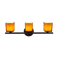 Access Lighting Hermes 3 Light Vanity in Oil Rubbed Bronze 64003-ORB/AMB photo thumbnail
