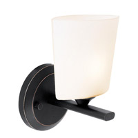 Access Lighting Thea 1 Light Vanity in Oil Rubbed Bronze 64031-ORB/OPL photo thumbnail
