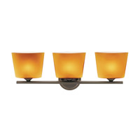 Access Lighting Thea 3 Light Vanity in Oil Rubbed Bronze 64033-ORB/AMB photo thumbnail