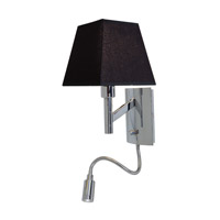 Access Lighting Cyprus 2 Light Wall Task Light in Chrome 70016LED-CH/BL