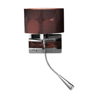 Access Lighting Epiphanie 2 Light Wall Task Light in Chrome 70023LED-CH/BRZ