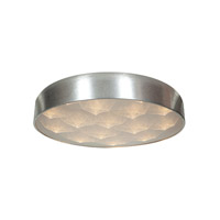 Access Lighting Meteor 9 Light Flush Mount in Brushed Silver 70080LED-BSL/ACR photo thumbnail
