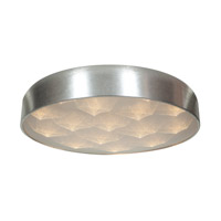 Access 70081LEDD-BSL/ACR Meteor LED 18 inch Brushed Silver Flush Mount Ceiling Light