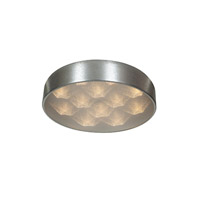 Access Lighting Meteor 12 Light Flush Mount in Brushed Silver 70081LED-BSL/ACR