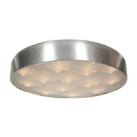 Meteor LED 23 inch Brushed Silver Flush Mount Ceiling Light