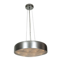 Meteor LED 18 inch Brushed Silver Pendant Ceiling Light