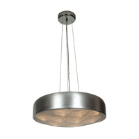 Access Lighting Meteor 12 Light Pendant in Brushed Silver 70083LED-BSL/ACR