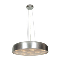 Meteor LED 23 inch Brushed Silver Pendant Ceiling Light