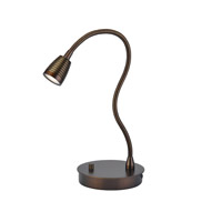TaskWerx 22 inch 6.3 watt Bronze Task Lamp Portable Light