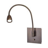 TaskWerx 25 inch 6.3 watt Bronze Task Lamp Portable Light