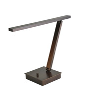 TaskWerx 14 inch 6.3 watt Bronze Task Lamp Portable Light