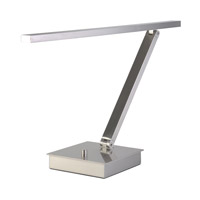 Access 72006LEDD-BS TaskWerx 14 inch 6.3 watt Brushed Steel Task Lamp Portable Light