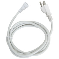LED Intelatrax White Power Cord with Plug