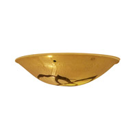 Access 927IT-LAVA Safari Bowl Lava Art Glass